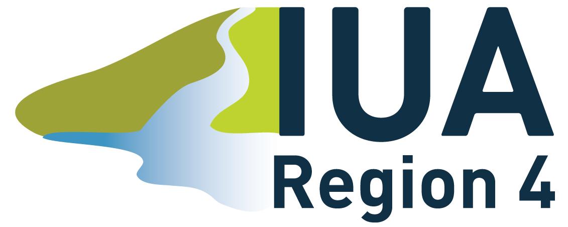 IUA Region 4. Logo.