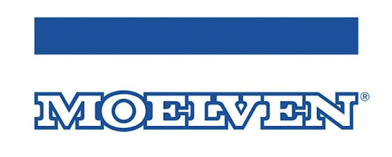Moelven Pellets. Logo.