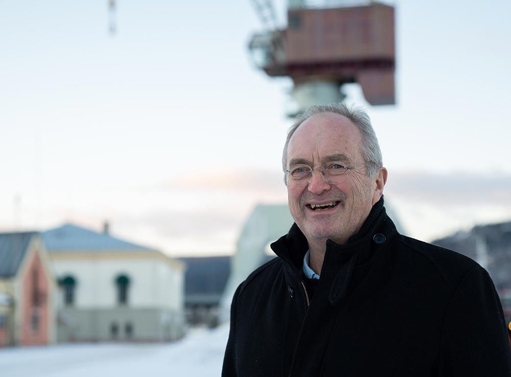 Havnedirektør Drammen havn, Einar Olsen